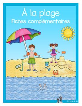 Vacances à la plage fiches complémentaires