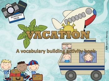 Vacation Activity Book