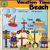 Vacation Beach ClipArt
