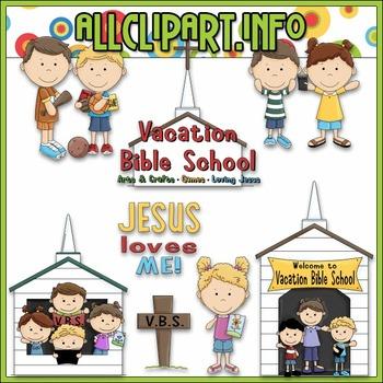 Vacation Bible School Clip Art - Alice Smith Clip Art