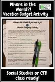 Vacation Budgeting Activity