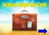Vacation Budgeting Money Math Digital Activity