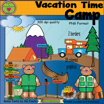 Vacation Camp ClipArt