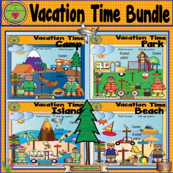 Vacation ClipArt Bundle