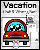 Vacation Craft and Writing for Kindergarten