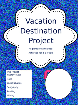 Vacation Destination City Project