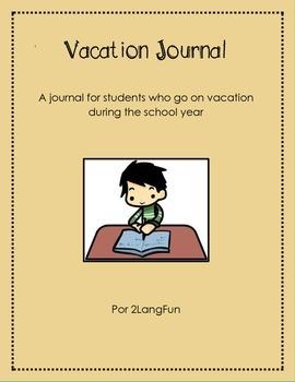 Vacation Journal English