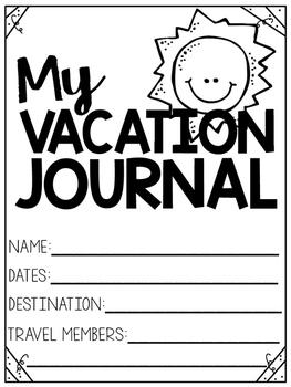 Vacation Journal Freebie