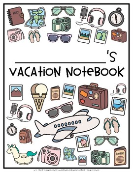 Vacation Journal Notebook