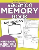 Vacation Memory Book