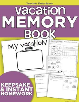 Vacation Memory Book