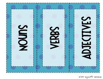 Vacation Nouns, Verbs, Adjectives Word Sort