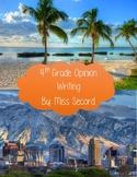 Vacation Opinion Writing
