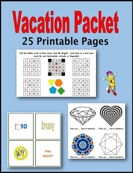 Vacation Packet
