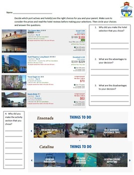 Vacation Planning on a Budget Fun Math