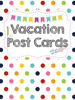 Vacation Post Card for the Writing Center