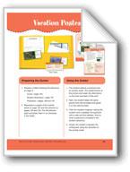 Vacation Postcards (File Folder Center)