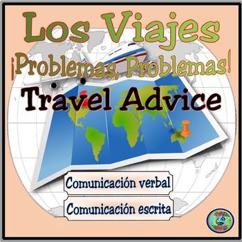 Travel and Vacation Problems - De viaje; problemas, problemas
