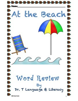 At the Beach Word Review