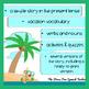 Vacation Story for Spanish Classes, El Mono Esta de Vacaciones