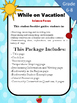 Vacation Student Package Science Focused  Grade 5 to 8