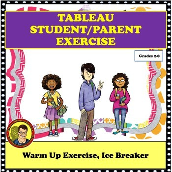 TABLEAU— BACK TO SCHOOL, ACTING EXERCISE FOR ANY SUBJECT