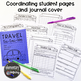 Travel Tic-Tac-Toe Pack: Cross-Curricular Absent Work for
