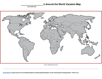 Vacation Time - Around the World
