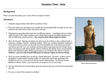Vacation Time - Asia