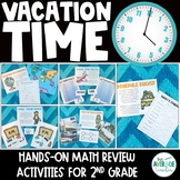 Telling Time Activities for 2nd Grade - Reading Clocks & Elapsed Time Activities