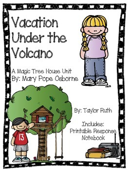 Vacation Under the Volcano: A Magic Tree House Unit (25 Pages)