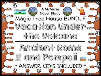 Vacation Under the Volcano | Ancient Rome and Pompeii : Magic Tree House Bundle