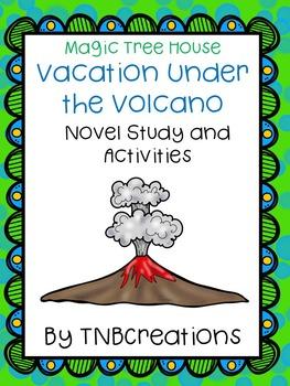 Vacation Under the Volcano Novel Study