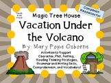 Vacation Under the Volcano by Mary Pope Osborne:  A Complete  Novel  Study!