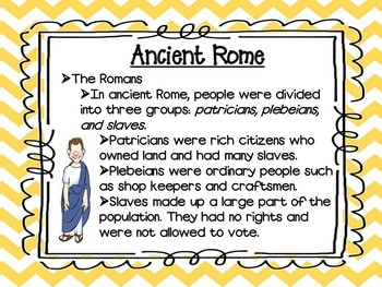 Vacation Under the Volcano/Ancient Rome Unit Study