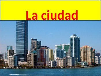 Vacation Vocabulary Realidades 1 Chapter 8A