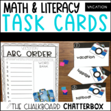Vacation Write the Room Task Cards