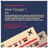 Vacation Writing - Bon Voyage !