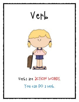 Vacationing with Parts of Speech: Nouns, Verbs, Adjectives, and Pronouns