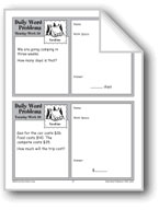 Vacations (Grade 2 Daily Word Problems-Week 29)