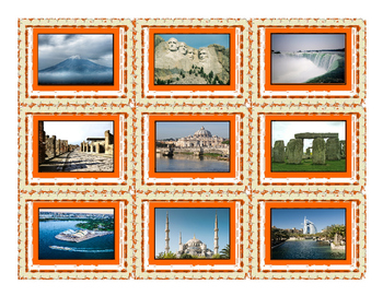 Vacations & Sightseeing Spot Cards