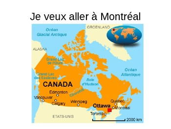 Vacations / Vacances / Canada / Montreal / Francophone countries