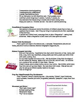 Vacations curriculum unit