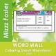 Vacuole Word Wall Coloring Sheet