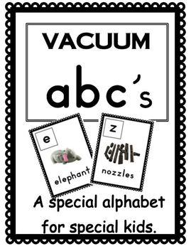 Vacuum ABCs Freebie
