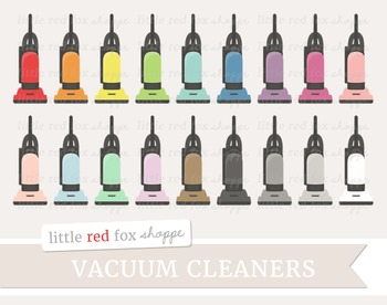 Vacuum Cleaner Clipart; Cleaning, Clean, Supplies
