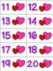 Valen-Ten Frames (Valentine Teen Number Ten Frames)