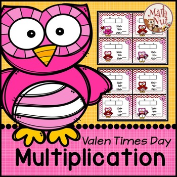 Valentine's Day Math: Multiplication Area Model 2 digit by