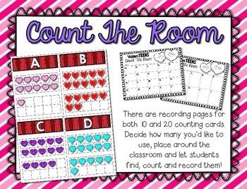 ValenTEENS --- Valentine's Teen Number Math Center Games --- Numbers 11-20