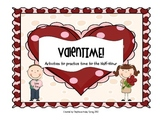 ValenTIME - Activities to Practice Time to the Half-Hour